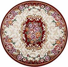 ERRU - Türmatten Europäische Art Rundschreiben Teppich / Fußmatte / Treppenmatten / Wohnzimmer Schlafzimmer Fußmatten Schlafzimmer Matten ( farbe : # 2 , größe : 160cm )