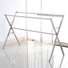 ERRU-Wäscheständer Edelstahl X-Type