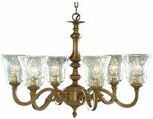 Ersatz-Lampenschirm für Kronleuchter Malaga