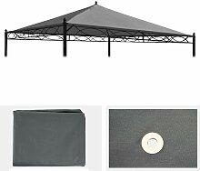 Ersatzbezug für Dach Pergola Pavillon Calpe 3x3m