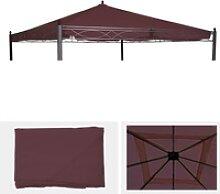 Ersatzbezug für Dach Pergola Pavillon Calpe 4x4m