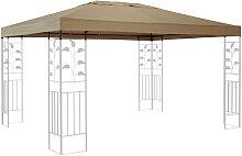 Ersatzdach für Blätter Pavillon 3x4m