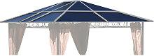 Ersatzdach für Hardtop Pavillon 3x3,6m