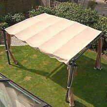 Ersatzdach für Pavillon Markise ca. 3x4 m Passend