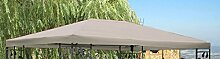 Ersatzdach zu Blätter Pavillon 3x4m Grau