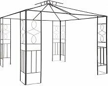 ERSATZGESTELL Pavillon Romantika 3x3m Pavillion Ersatzgestänge OHNE Dach 3x3 NEU