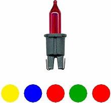 Ersatzglühbirnchen für Mini-Lichterkette 5 Stück auf Karte (Liefermenge=3)