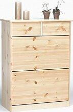 Erst-Holz® 90.50-03 Schuhregal Schuhkipper Kiefer