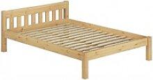 ERST-HOLZ Bett Doppelbett Massivholzbett 140x200