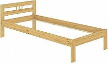 Erst-Holz Bettgestell Einzelbett Massivholz Kiefer