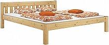 Erst-Holz® Doppelbett Ehebett 180x200 Kiefer