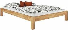 Erst-Holz® Doppelbett Ehebett Kingsize-Bett