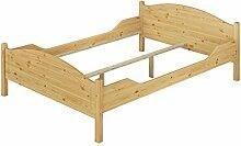 Erst-Holz® Doppelbett Ehebett Massivholz