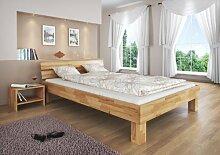 Erst-Holz® Doppelbett Futonbett 140x200