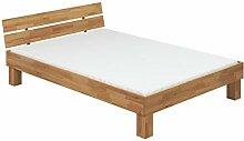 Erst-Holz® Doppelbett Futonbett Überlänge