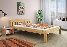 Erst-Holz® Doppelbett Kingsizebett 180x200