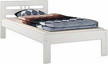 Erst-Holz® Einzelbett Futonbett 100x200