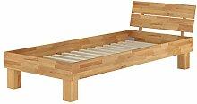 Erst-Holz® Einzelbett Futonbett 90x200 Massivholz