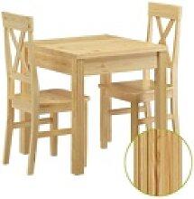 ERST-HOLZ Essgruppe Stuhl- und Tischgruppe mit