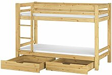 Erst-Holz® Etagenbett massiv Kiefer Stockbett