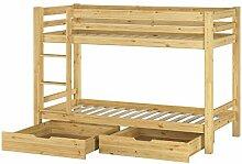 Erst-Holz® Etagenbett Stockbett f. Kinderzimmer