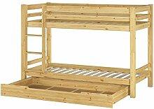 Erst-Holz® Etagenbett Stockbett Kieferbett +