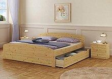 Erst-Holz® Funktions-Doppelbett Überlänge