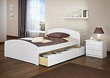Erst-Holz® Funktionsbett 140x200 Doppelbett +