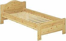 Erst-Holz® Jugendbett Massivholzbett Kiefer Natur