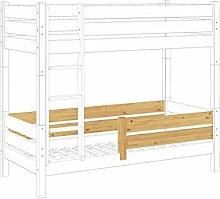 Erst-Holz® Kindersicherung Rausfallschutz für Etagenbetten Modell 60.16 für Untere Liegefläche Kisi 16