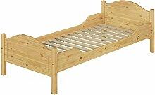 Erst-Holz® Massivholz Bett 100x200 Rollrost