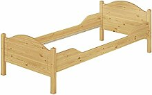 Erst-Holz® Massivholz-Bett Kiefer Einzelbett