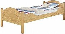 Erst-Holz® Massivholz-Bett Kiefer Natur 100x200