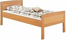 Erst-Holz® Massivholzbett 100x200 Einzelbett