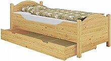 Erst-Holz® Seniorenbett extra hoch Bettkasten