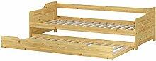 Erst-Holz® Sofabett Doppelbett Bettgestell 90x200