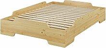 Erst-Holz® Stapelbett, Jugend Bett, Designer Bett