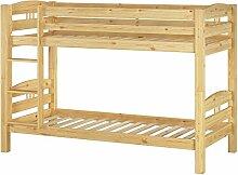 Erst-Holz® Stockbett Etagenbett Kiefer 90x200