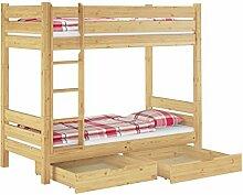 Erst-Holz® Stockbett für Erwachsene 90x200