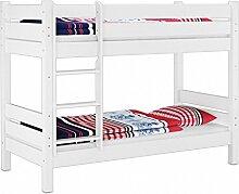 Erst-Holz® Stockbett mit Überlänge 80x220
