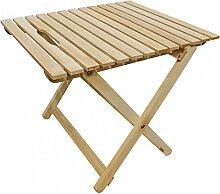 Erst-Holz Tisch Buche Hell klappbar Beistelltisch,