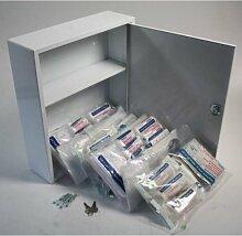 Erste Hilfe - Arzneischrank Metall mit kleiner