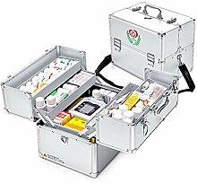 Erste Hilfe Koffer Medizin-Box Hausapotheke