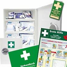 Erste Hilfe Schrank DIN 13169 inkl. Füllung,