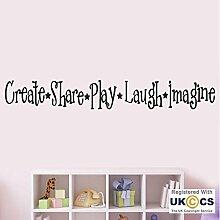 Erstellen eines Titel Lache Kinderzimmer