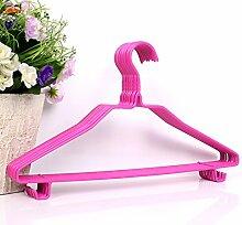 Erwachsene Kinder eintauchen Kunststoff Kleiderbügel hanging out Hose Rack Nass Kunststoff Kleiderbügel-C