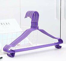 Erwachsene Kunststoff Kleiderbügel hängende