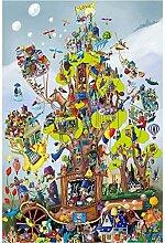 Erwachsene Puzzle 1000 Teile Baumhaus Kinder