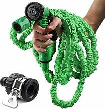 Erweiterbar Garten Wasserschlauch Magic Flexible Expanding Roll-Home Garten Wasser Schlauch mit Spritzpistole mit Stecker für den Garten Auto Waschen Haus Reinigung Pet Waschen