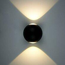 ERWEY 10W LED Wandleuchte Außen Wandlampe